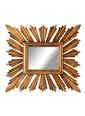 Warm Design Güneş Motifli Ayna  Renkli